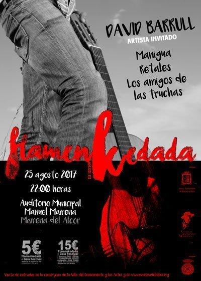 FLAMENKEDADA. David Barrull. Manigua, Retales y Los Amigos de las Truchas