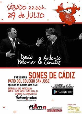 LA ISLA CIUDAD FLAMENCA. David Palomar & Antonio Canales