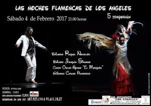 cartel noches flamencas los angeles