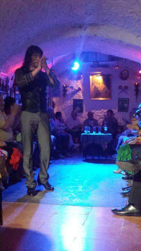 Cuadro Flamenco de las Cuevas Los Tarantos