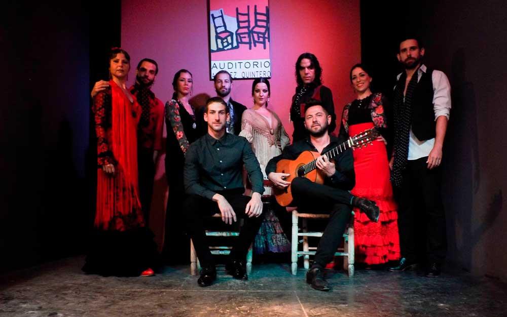 Cuadro del Tablao Flamenco Álvarez Quintero