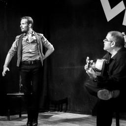 Cuadro del Tablao Flamenco Las Tablas. Artistas invitados
