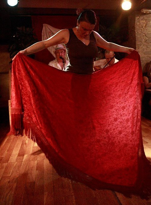Cuadro del Tablao Flamenco Nervión