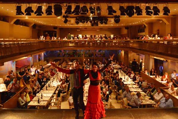 Más de 14 artistas profesionales del cuadro del Palacio del Flamenco