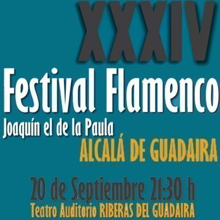 Festival de Flamenco Joaquín el de la Paula 2014 Alcalá de Guadaíra