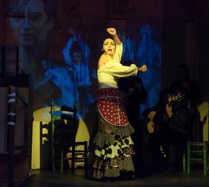 Sensi Amaya y su cuadro flamenco