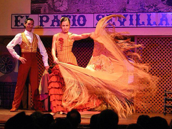Cuadro del Tablao Flamenco El Patio Sevillano