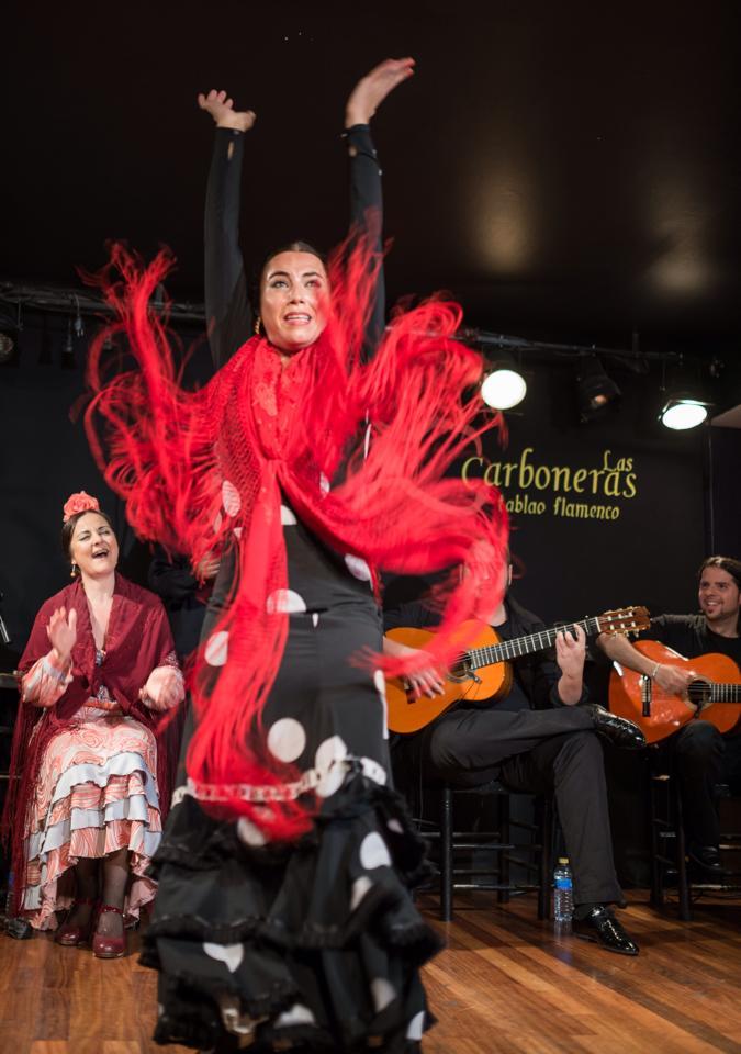 Cuadro del Tablao Flamenco Las Carboneras