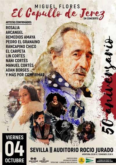 Capullo de Jerez. Rosalía, Arcángel, Remedios Amaya, Pedro El Granaíno, Rancapino chico, El Carpeta, Lin Cortés...