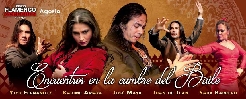 'Encuentros en la Cumbre del Baile'. Yiyo Fernández, Karime Amaya, José Maya, Juan de Juan y Sara Barrero