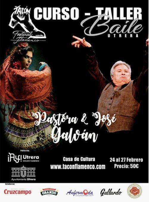 Curso Taller de Baile. Pastora Galván & José Galván
