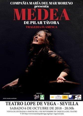 'Medea', de Pilar Távora. Cía. María del Mar Moreno