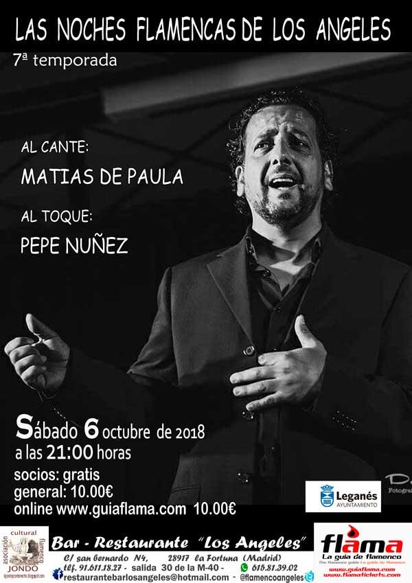 Matías de Paula y Pepe Núñez