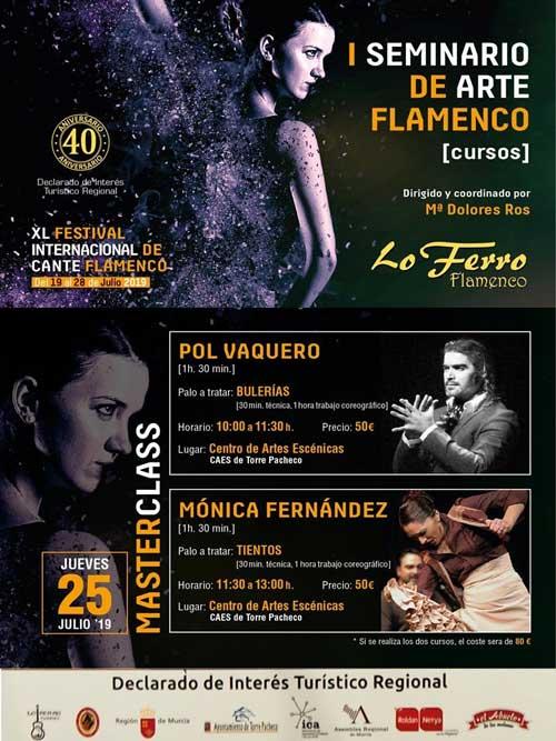 I SEMINARIO FLAMENCO. Pol Vaquero y Mónica Fernández