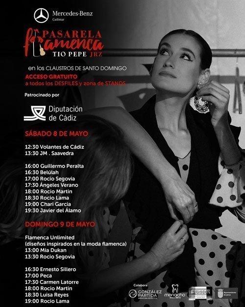 Desfiles de la Pasarela Flamenca Tío Pepe