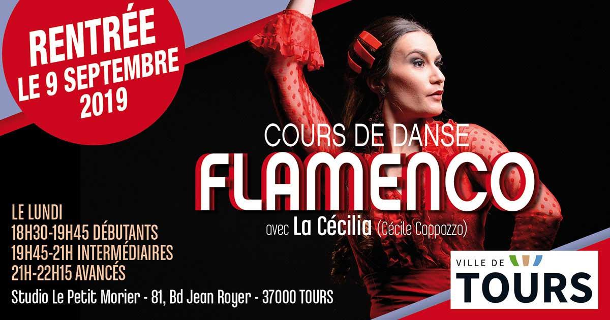 Cours de danse flamenco avec Cécile Cappozzo