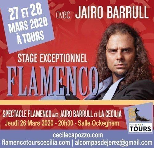Stage Flamenco avec Jairo Barrull