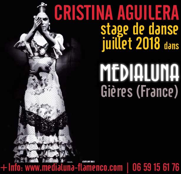 Stage de Danse. Cristina Aguilera