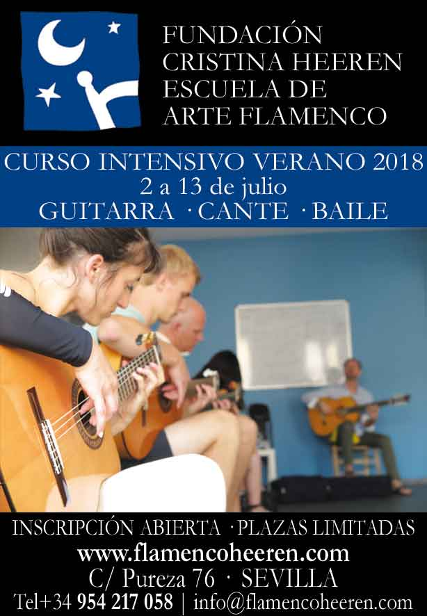 Curso Flamenco Intensivo de Verano 2018