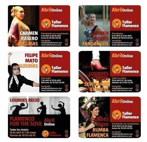 Cursos Taller Flamenco con Carmen Rasero, Felipe Mato, Lourdes Recio...