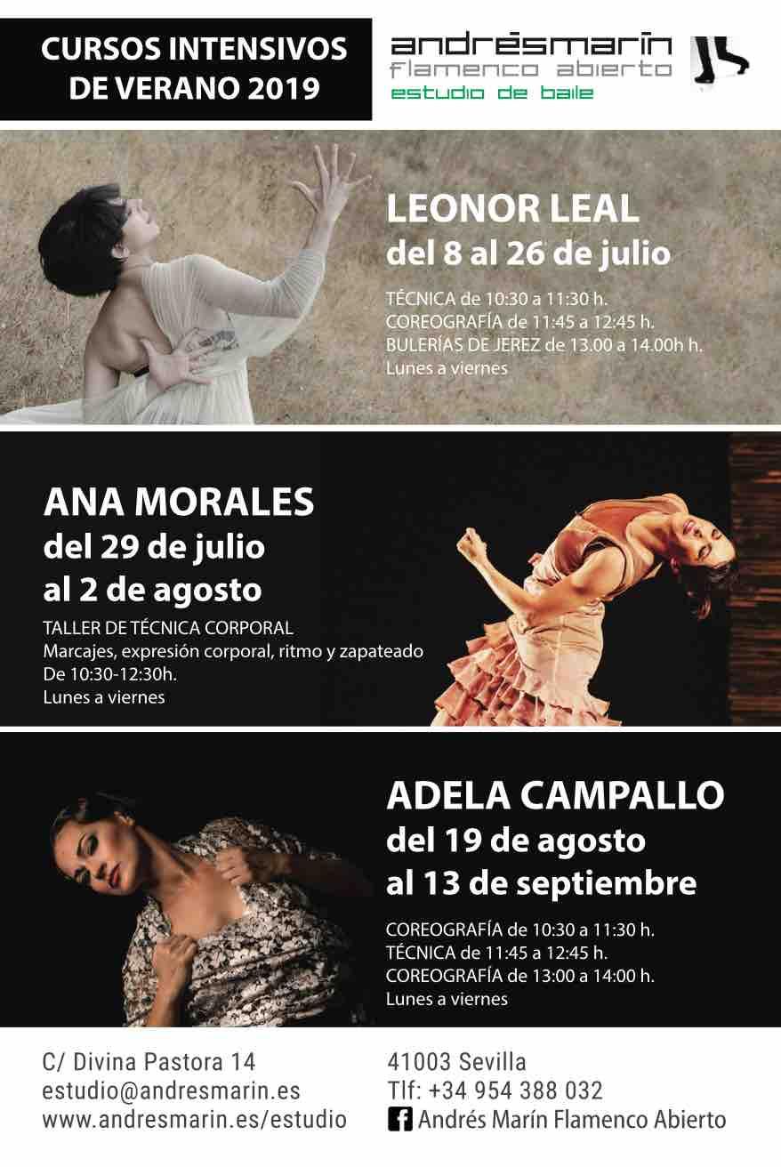 Cursos intensivos por Ana Morales