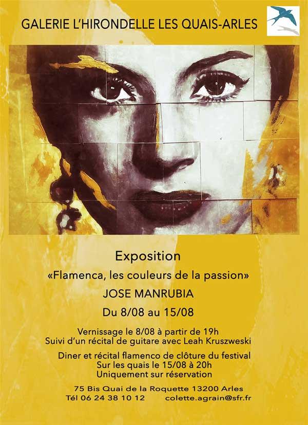 Exposition: 'Flamenca, les couleurs de la passion', par José Manrubia