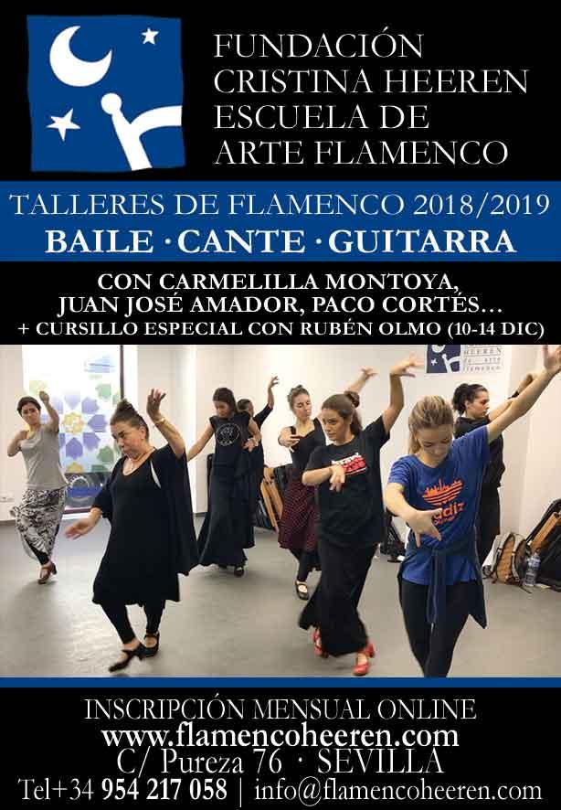 Talleres con Carmelilla Montoya, Juan José Amador, Paco Cortés...
