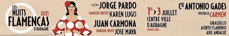 Cartel Festival Flamenco Aubagne 2021