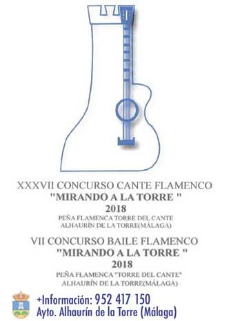 XXXVII CONCURSO CANTE Y BAILE MIRANDO A LA TORRE. Selectivas