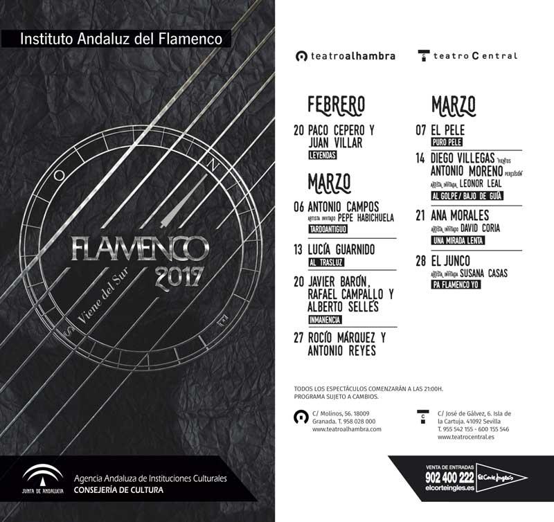 FLAMENCO VIENE DEL SUR. Ana Morales y David Coria