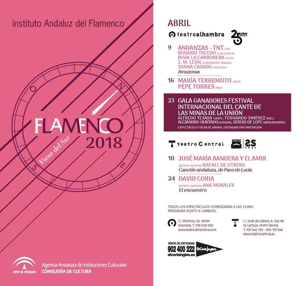 FLAMENCO VIENE DEL SUR. María Terremoto. Pepe Torres