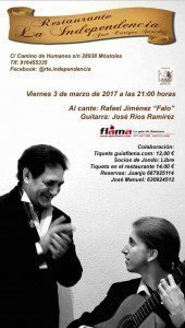 cartel la independencia mostoles flamenco