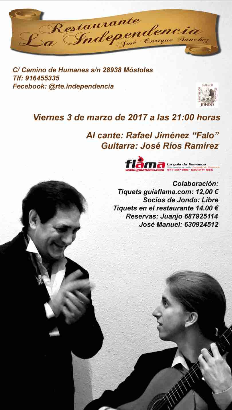 Rafael Jiménez El Falo y José Ríos Ramírez