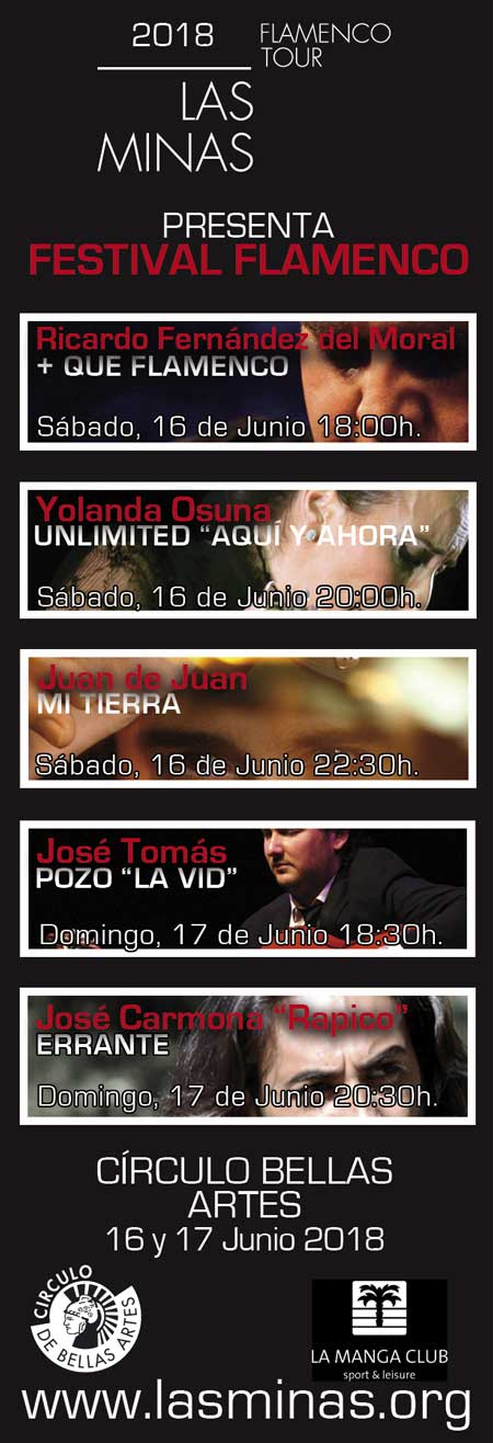 LAS MINAS FLAMENCO TOUR. Ricardo Fernández del Moral