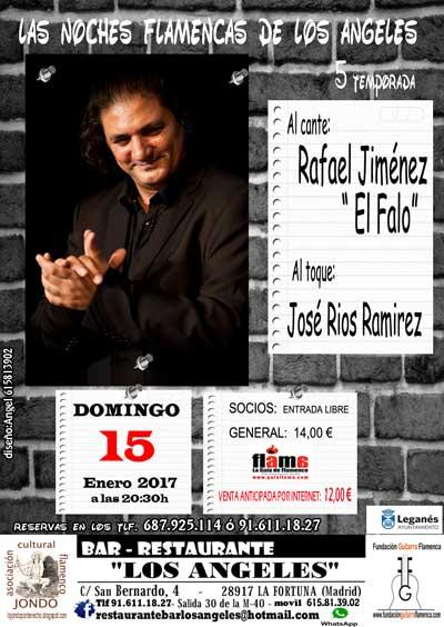LAS NOCHES FLAMENCAS DE LOS ÁNGELES. Rafael Jiménez El Falo y José Ríos Ramírez