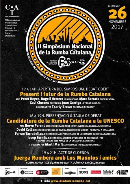 II Simposium Nacional de la Rumba Catalana