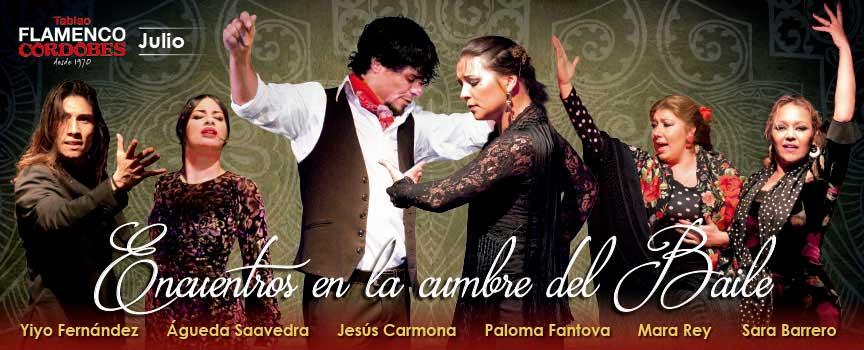 'Encuentros en la Cumbre del Baile'. Jesús Carmona, Águeda Saavedra, Mara Rey, Yiyo Fernández y Sara Barrero