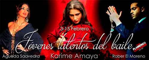'JÓVENES TALENTOS DEL BAILE'. Karime Amaya, Águeda Saavedra y Rober El Moreno