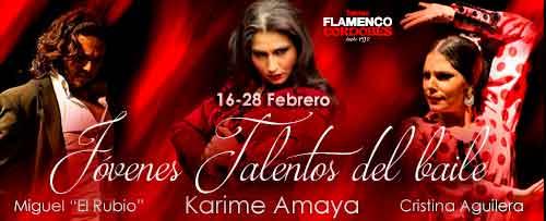 'JÓVENES TALENTOS DEL BAILE'. Karime Amaya, Cristina Aguilera y Miguel El Rubio
