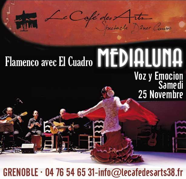 Flamenco Medialuna. Miguel et Ricardo. Carmen. Estefania