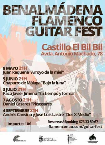 BENALMÁDENA FLAMENCO GUITAR FEST. 'Arroyo de la Miel', Juan Requena