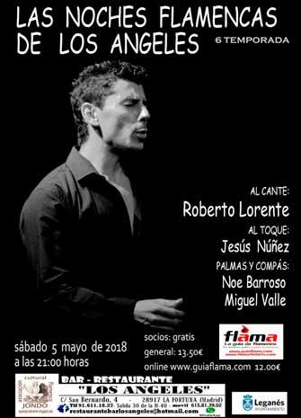 NOCHES FLAMENCAS DE LOS ÁNGELES. Roberto Lorente