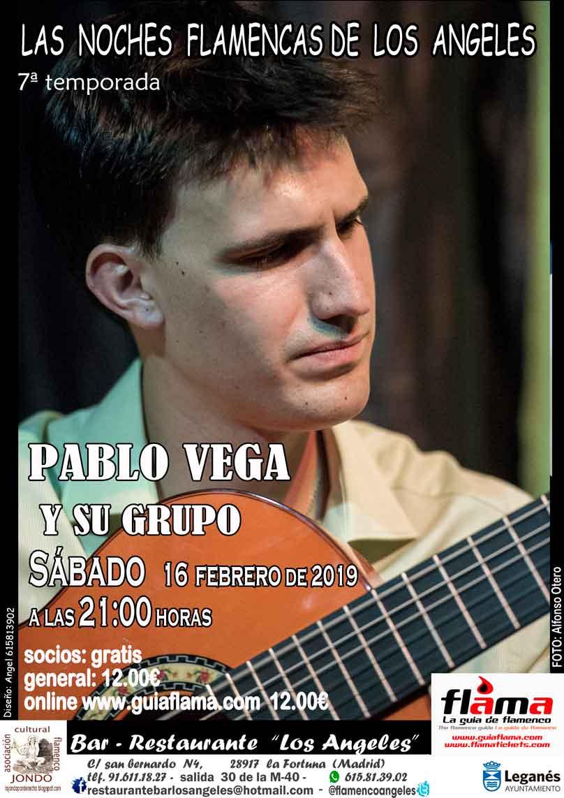Pablo Vega y su grupo